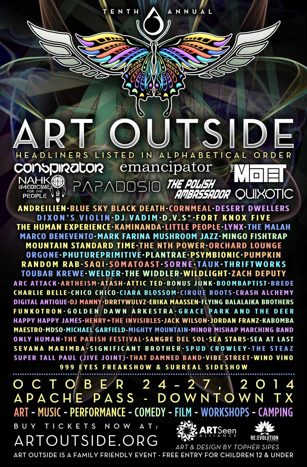 Art Outside, The Best Fall Festival in Texas, Really! A Festival Preview by Rich Denis