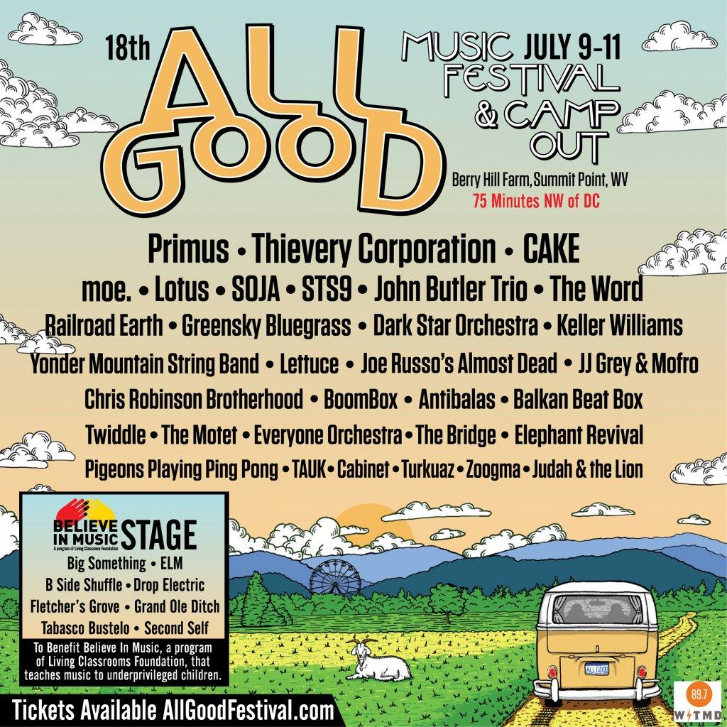 All Good Music Festival and Flying Dog Collaborate to Make 'All Good Ale' A Reality