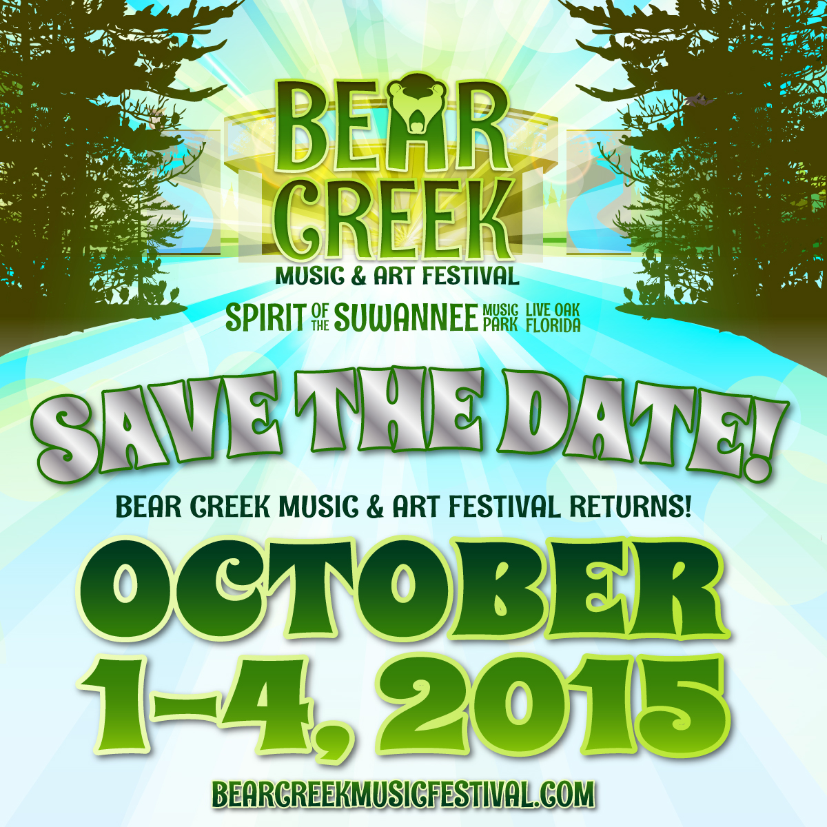 Bear Creek Music & Art Festival Announces 2015 Date