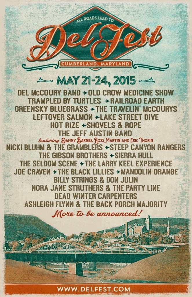 Delfest 2015 Lineup Announcement