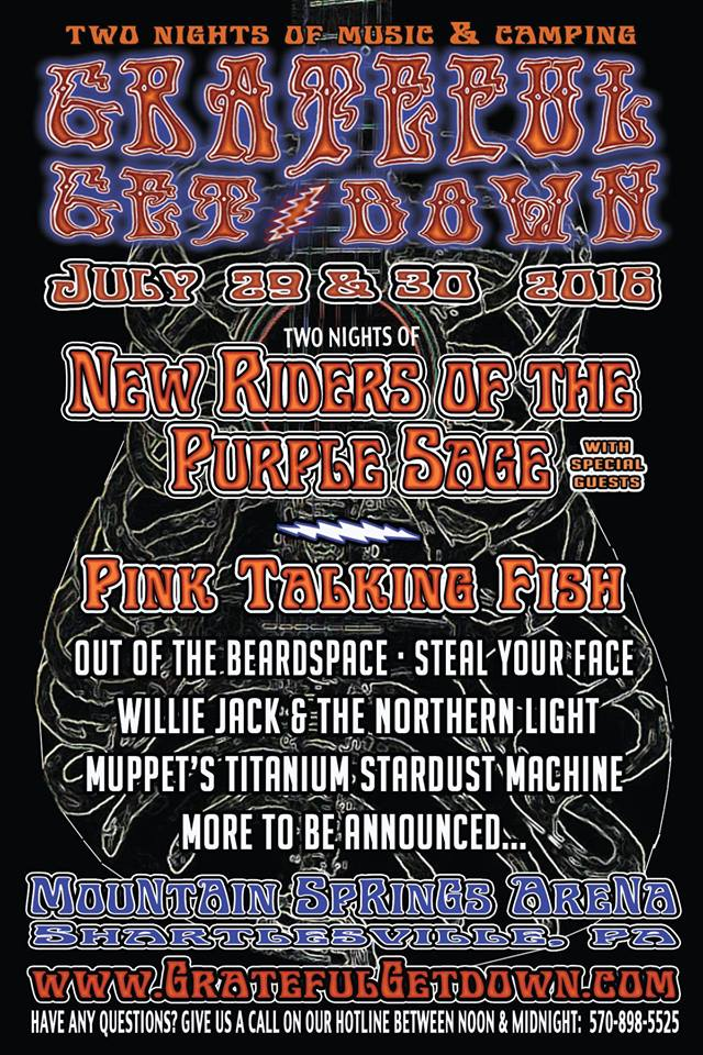 Jeff Mattson and Rob Eaton of Dark Star Orchestra to Sit In with New Riders of the Purple Sage at the Grateful Get Down