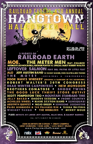 Hangtown Halloween Ball Releases 2nd Wave Lineup