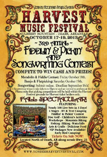 Harvest Festival Announces Fan Friendly Competitions and Contests