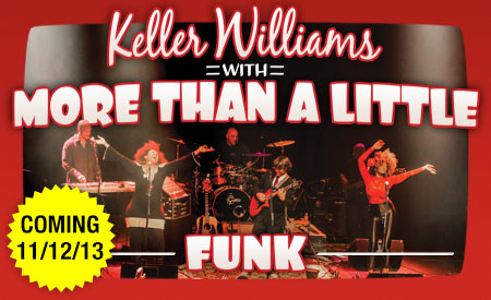 Funk, The New Album by Keller Williams To Be Released November 12, 2013