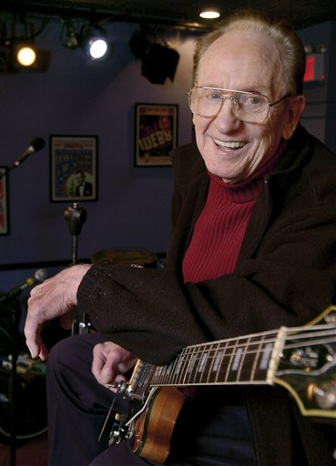 Les Paul, Inventor, Musician, American Icon (June 9, 1915- August 13, 2009)