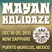 Mayan Holidaze 2013 Announced, Featuring The Disco Biscuits, Umphrey's McGee and STS9