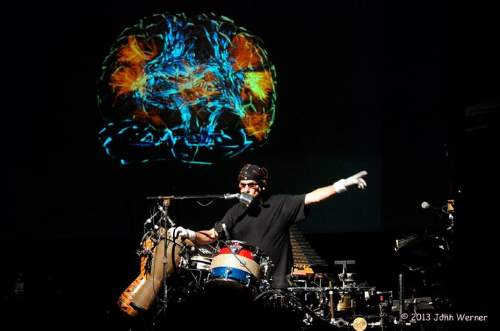 Mickey Hart Debuts The Sounds of His Brain on the SUPERORGANISM Tour Kick Off In Healdsburg, CA