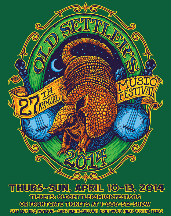 Old Settler's Music Festival Announces Schedule for April 10-13, 2014