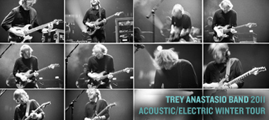 Trey Anastasio Band Fall Run 2011