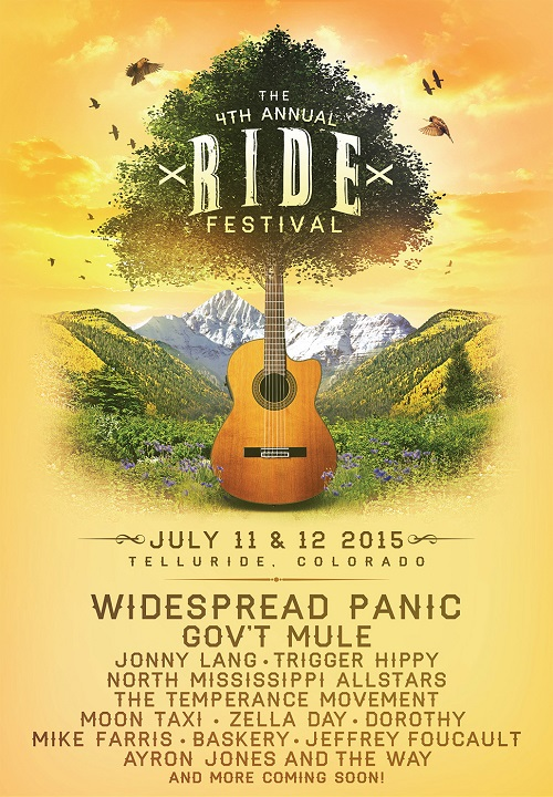 Artist Lineup Announced for the 4th Annual Ride Festival