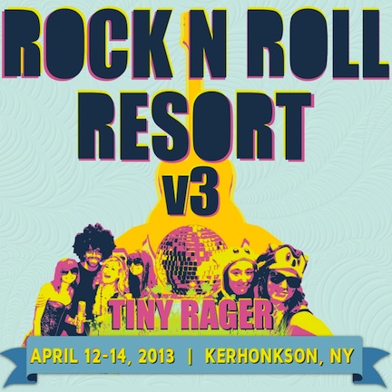 Rock n Roll Resort Announces Lineup, Returns to Catskills 4/12-14