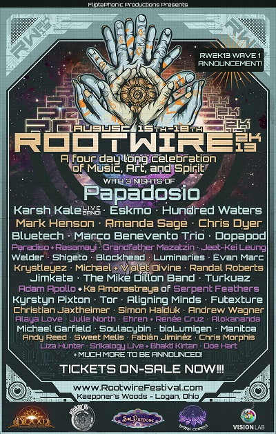 Papadosio Announces Lineup for 4th Annual Rootwire Festival