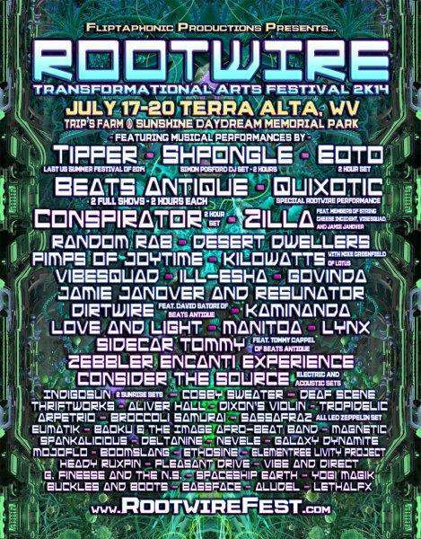 Rootwire Announces Final Lineup Additions