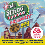 The String Cheese Incident Release Three-Disk Set, Rhythm of the Road:  Volume 2, Live in Las Vegas