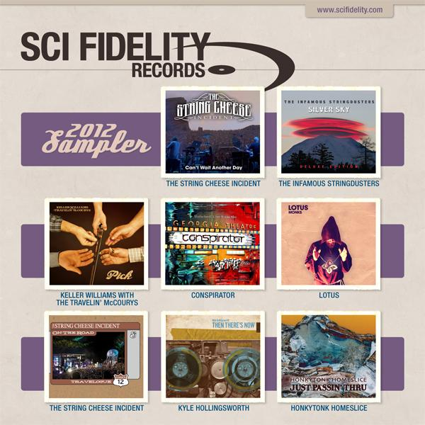 SCI Fidelity Records Celebrates 15 Years with Free Sampler