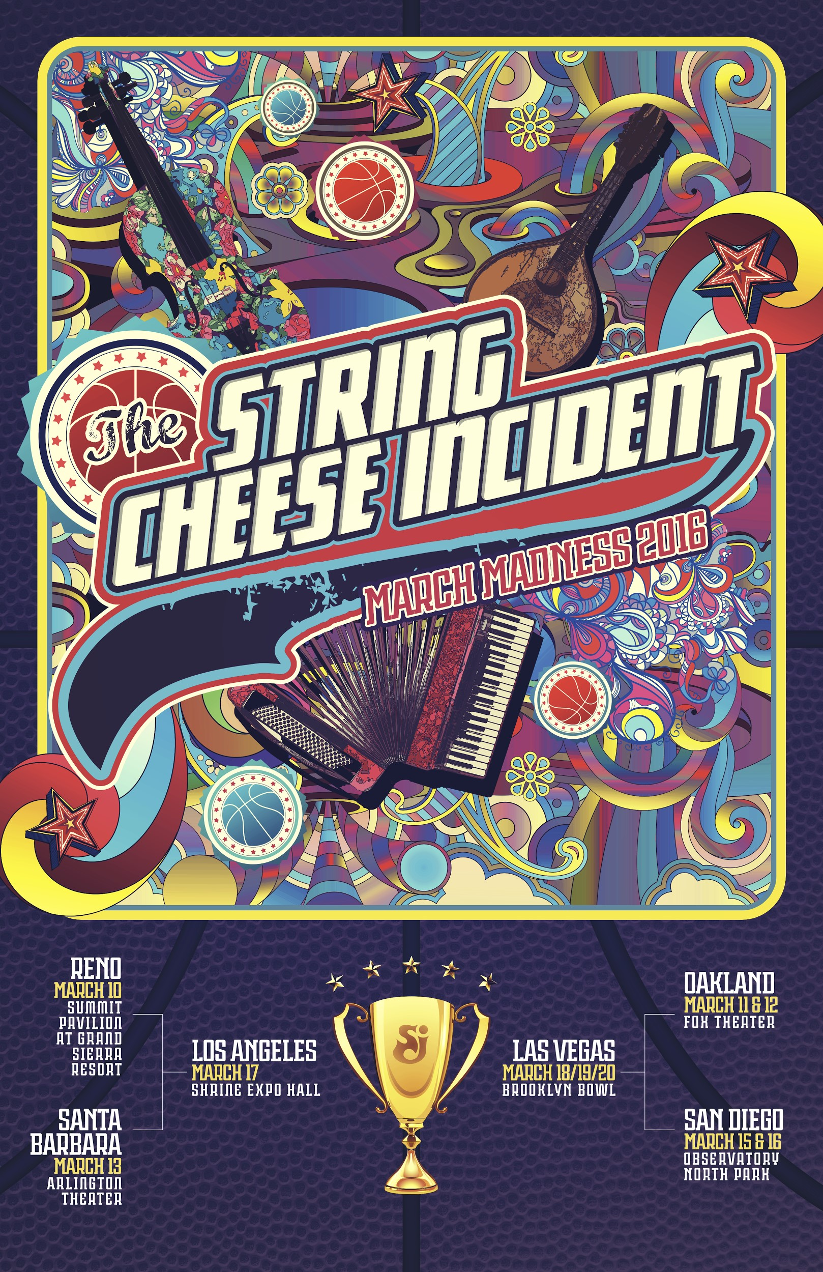 String Cheese Incident Announces March Madness Tour