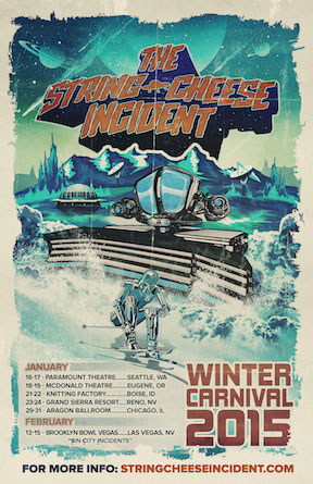 The String Cheese Incident Announce Winter Carnival Headline Tour