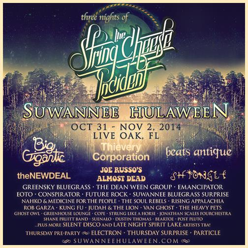 Suwannee Hulaween is Fastly Approaching!