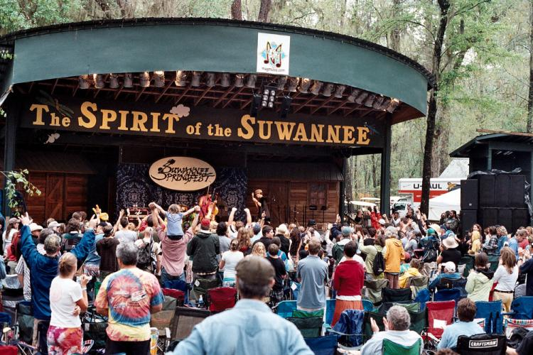 Suwannee Springfest Announces Additional Artists and Special Sets, March 22-25