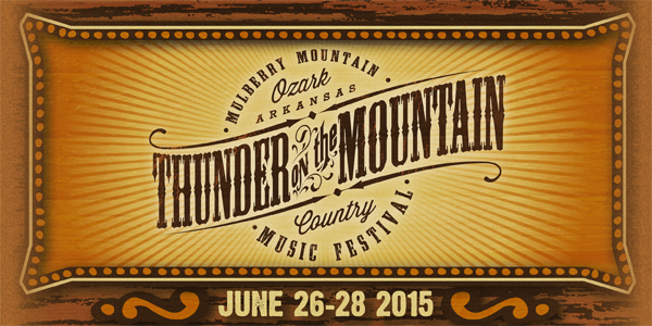Thunder on the Mountain Announces First Round of Artists for 2015 Festival
