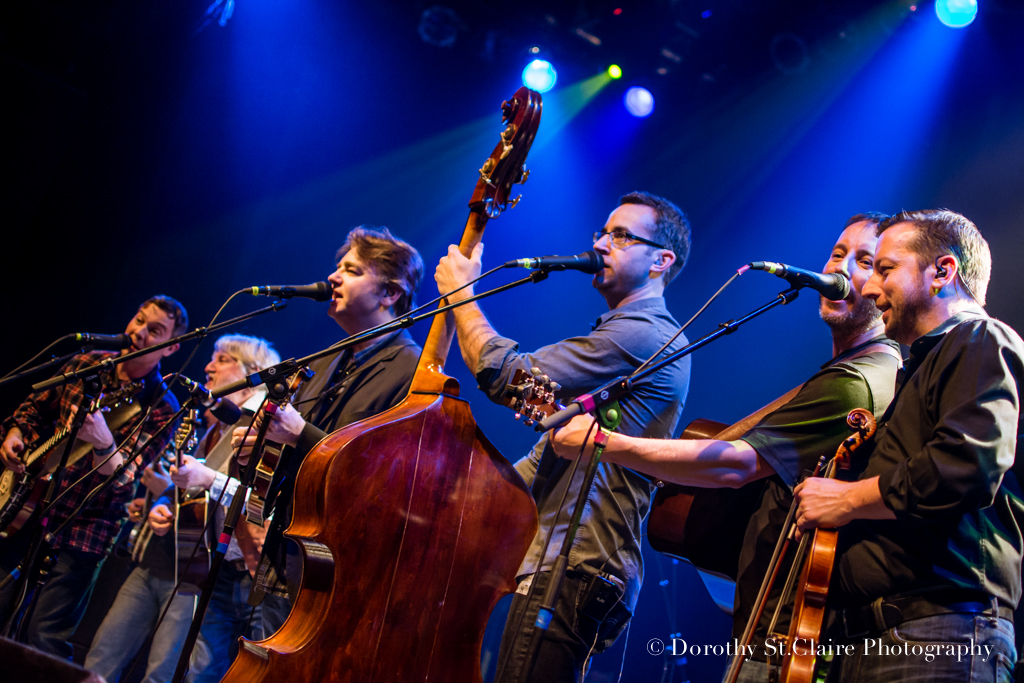 Members of Yonder Mountain String Band join Travelin' McCourys and Billy Nershi in Boulder