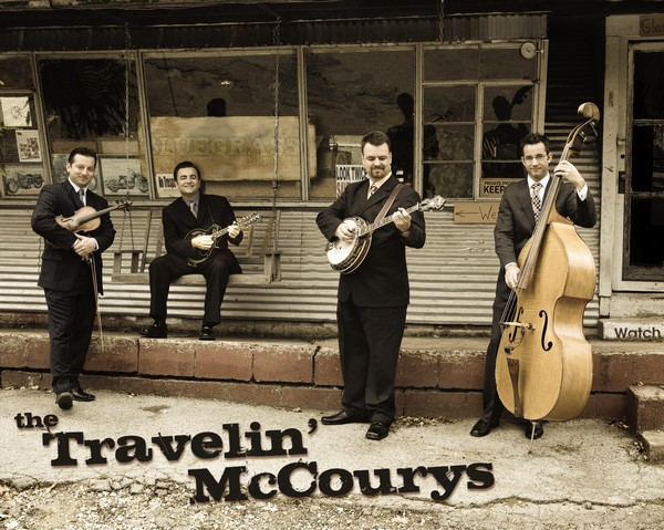 Free Nashville Bluegrass Concert with The Travelin' McCourys & Friends