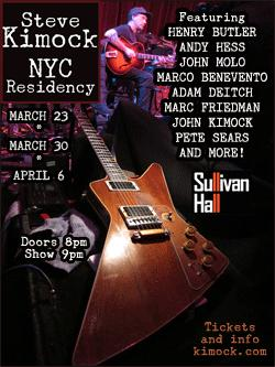Spring into Sound at Kimock's NYC Residency