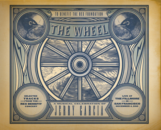 Rex Foundation releases The Wheel - A Musical Celebration of Jerry Garcia